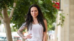Sylwia Szostak chwali się umięśnionym ciałem