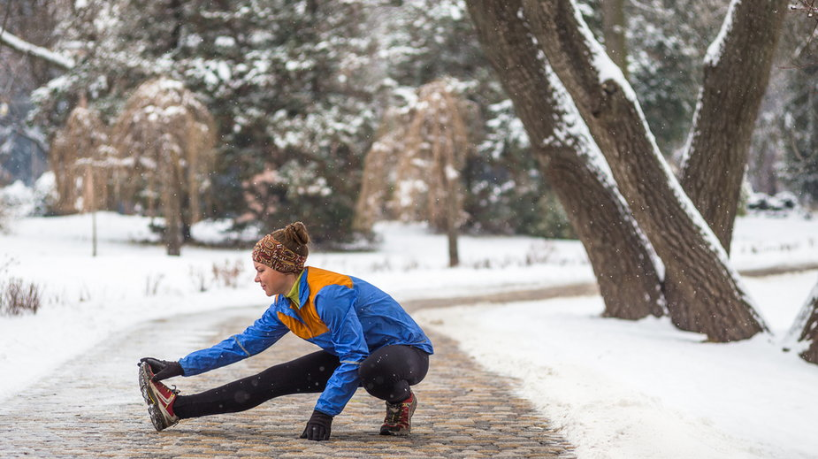 Trening zimą