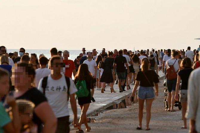 Zadar pre nekoliko nedelja