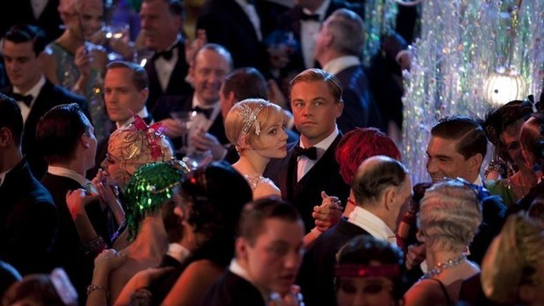 """The Great Gatsby"" (reż. Baz Luhrmann) - kadr z filmu"