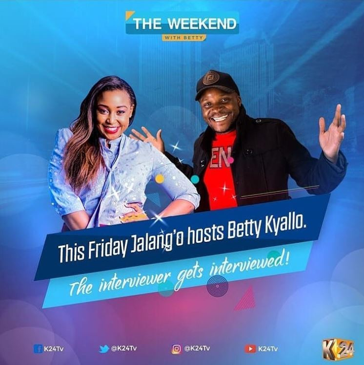 Hilarious questions fans want Betty Kyallo to answer during interview with Jalang'o
