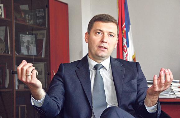 Promenio odluku: Nebojša Zelenović