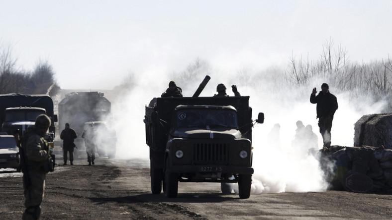 Ukraińskie wojska opuszczają Debalcewe