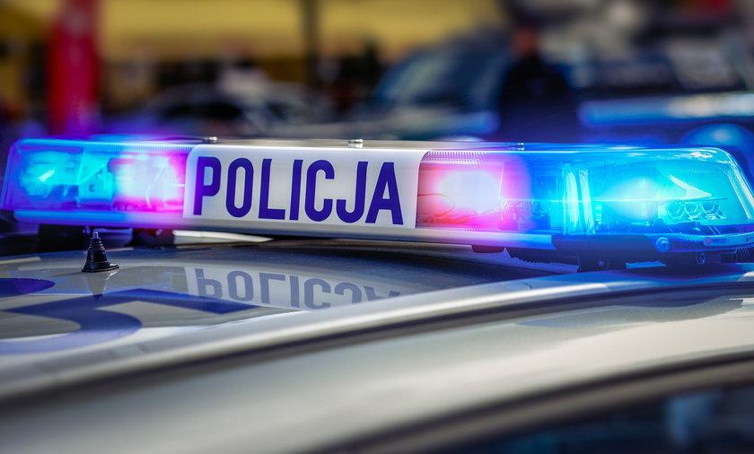 Policja zatrzymała osiem osób