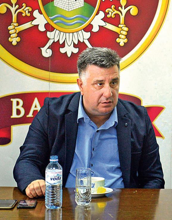 Slobodan Gvozdenović, gradonačelnik Valjeva
