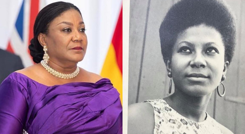 First Lady Rebecca Akufo-Addo shares throwback photo of her 20-year-old self