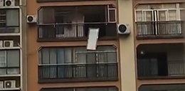 Podobno zdenerwowała go żona. Rozpętał piekło na 23 piętrze