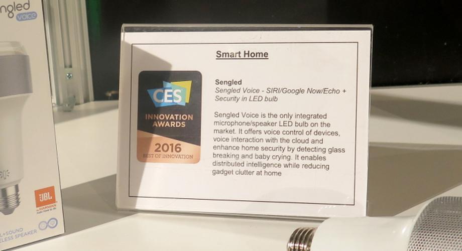 CES: Sengled Voice – lauschende Internet-Glühbirne