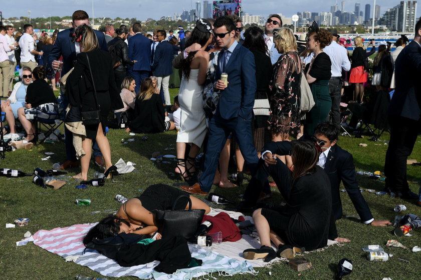 Melbourne Cup Day at Flemington Racecourse in Melbourne