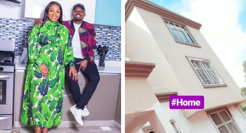 Risper Faith finally unveils the mega-mansion they have been building (Insta)