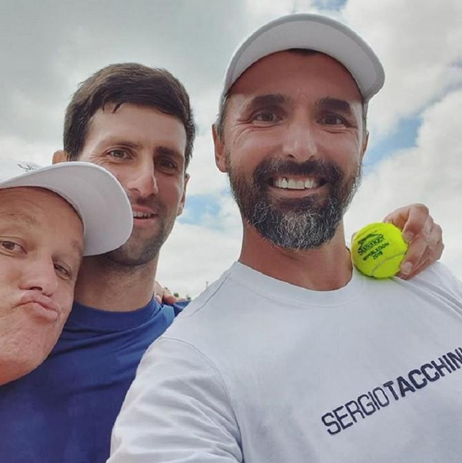 Tim za pobede: Marjan Varda, Novak Đoković i Goran Ivanišević