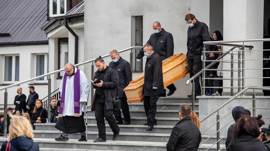 """Pogrzeb Michała """"Bezczela"""" Banaszka"""