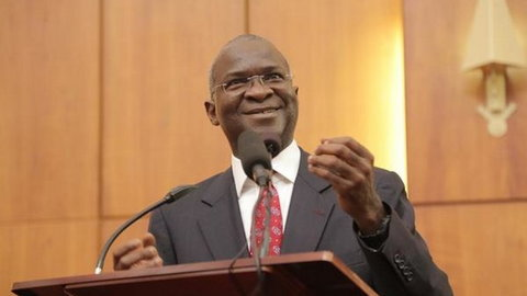 Minister of Works and Housing, Babatunde Raji Fashola  has been receiving criticisms for saying Nigerian roads aren't so bad. [Twitter/@OrderPaper]