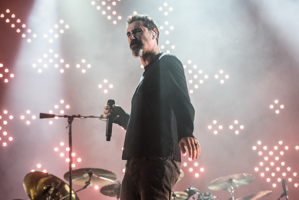 Impact Festival 2017: koncert System of a Down w Tauron Arena Kraków