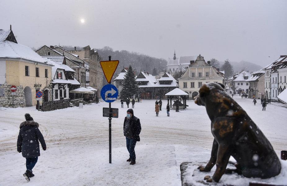 Zimowy weekend w Kazimierzu Dolnym