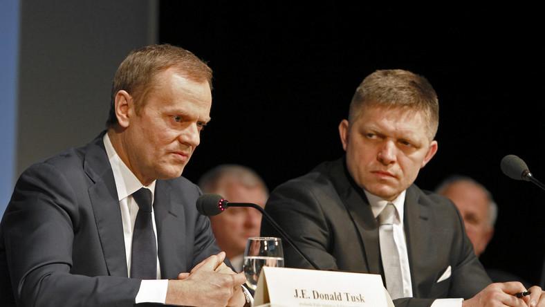 Z kabanosem i chrzanem do premiera Słowacji. Tusk broni polskiej żywności