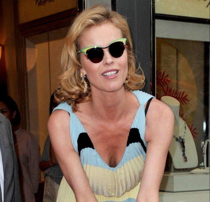 Eva Herzigova Cannes 2012
