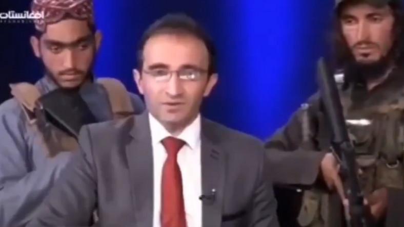 Talibowie w afgańskiej telewizji