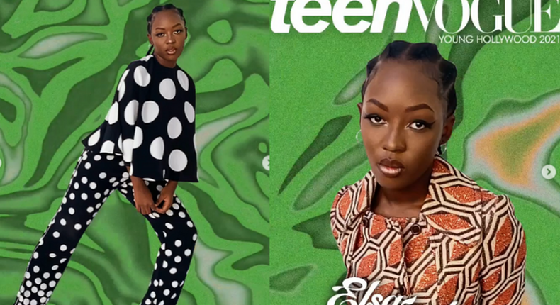 Comedian Elsa Majimbo over the moon as she gets to grace Cover of Teen Vogue Magazine