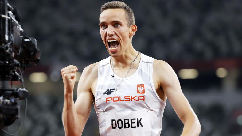 Patryk Dobek po zwycięstwie w półfinale biegu na 800 metrów