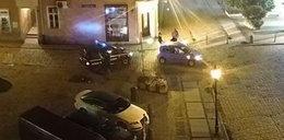 """Nocna szarża w Świdnicy! Jechała bez instruktora i na """"podwójnym gazie"""""""