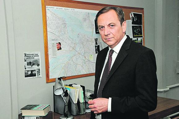 Tihomir Stanić u seriji igra šefa policije Marjanovića