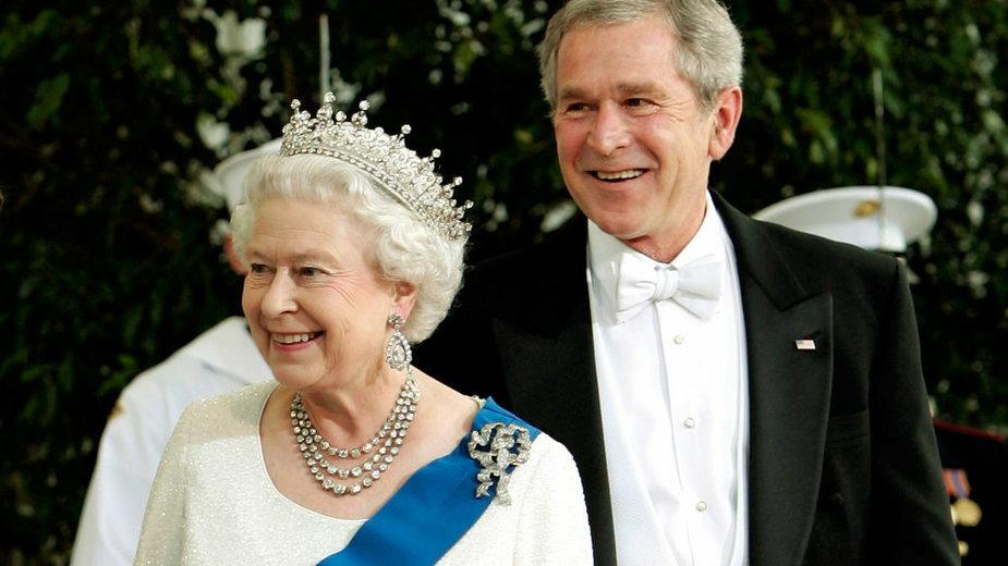 Elżbieta II i prezydenci USA: George W. Bush