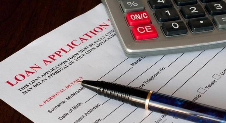 Loan application forms