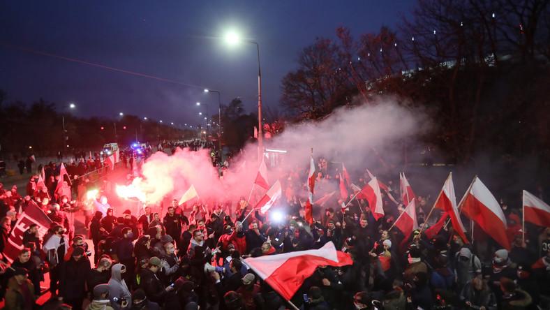 Marsz Niepodległości 2029 fot. Policja