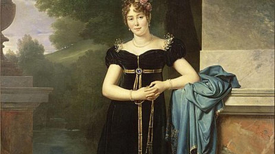 Maria Walewska była metresą Napoleona Bonaparte - domena publiczna