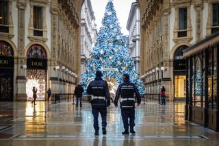 Surowe kontrole podczas świątecznego lockdownu we Włoszech