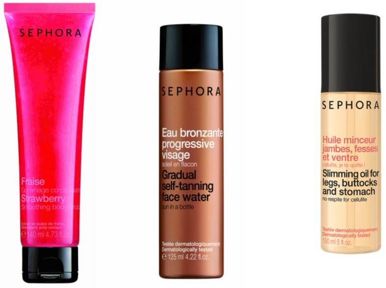 Kosmetyki do pielęgnacji ciała Sephora z kolekcji lato 2014