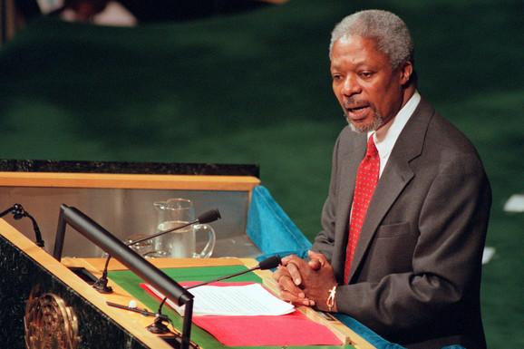 """""""DOZVOLITE MI DA POČNEM OD KOSOVA"""" Šta je rekao Kofi Anan mesec dana pred početak NATO bombardovanja (VIDEO)"""
