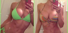 Dziwne hobby i do tego w bikini