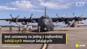 """AC-130 Gunship - """"latająca armata"""" lotnictwa USA"""