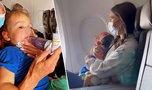 Skandal na pokładzie! 2-latek usunięty z samolotu. Powód szokuje