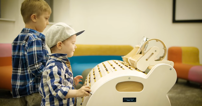 Musicon -  narzędzie edukacyjne dla dzieci autorstwa polskiego startupu