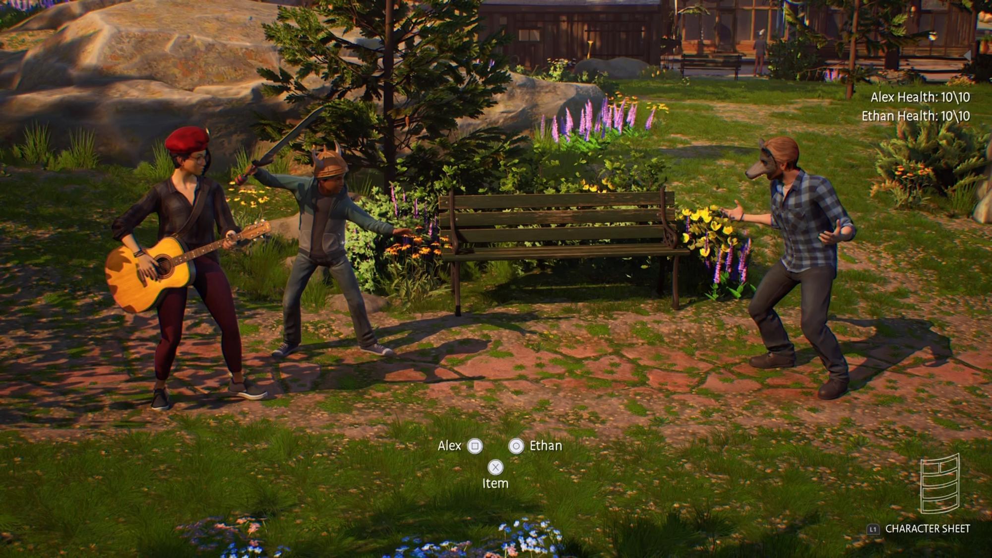 Titul obsahuje kopec minihier ako napríklad súboje v štýle RPG hier.