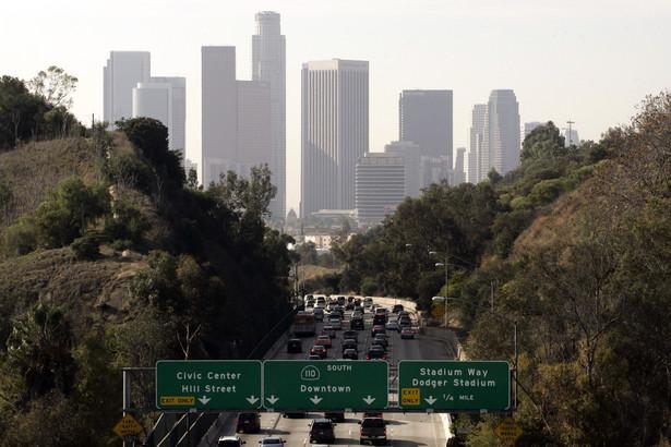 Pierwszą piątkę miast najlepszych do inwestycji w nieruchomości zamyka Los Angeles. W Mieście Aniołów zainwestowałoby około 4 proc. podmiotów zrzeszonych we wpływowym Stowarzyszeniu Inwestorów Zagranicznych AFIRE. Na zdj. Miasto Los Angeles w stanie Kalifornia.