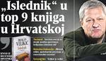 """Velikićev """"Islednik"""" u top 9 knjiga u Hrvatskoj"""
