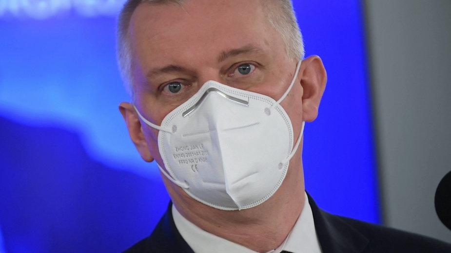Poseł KO Tomasz Siemoniak