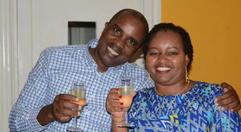 Waiguru's special message to her husband after surviving impeachment