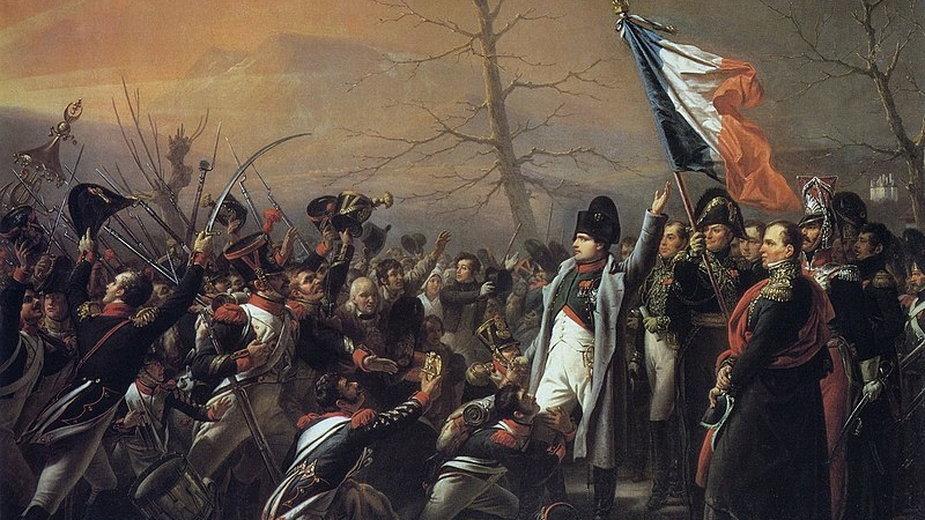 Powrót Napoleona z Elby - domena publiczna