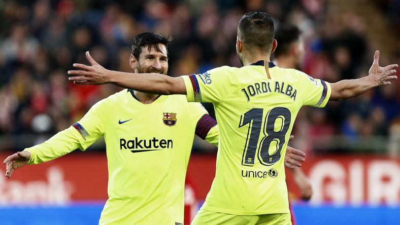 Lionel Messi i Jordi Alba