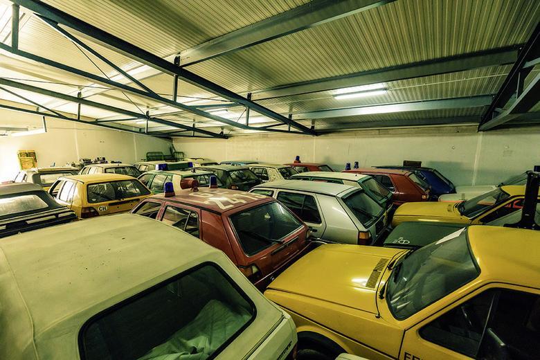 Prywatna kolekcja Volkswagena Golfa