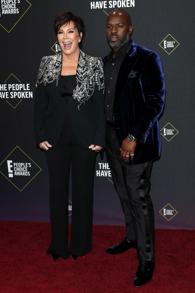 People's Choice Awards 2019: Kris Jenner i Corey Gamble