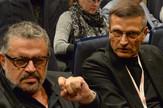 Branislav Mićunović i Nebojša Bradić na otvaranju Bitefa
