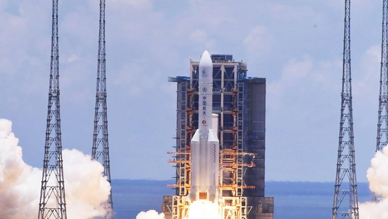 Start chińskiej misji na Marsa