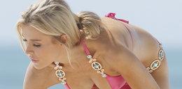 Wow! Joanna Krupa na plaży