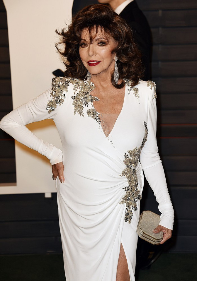 Joan Collins w 2016 roku
